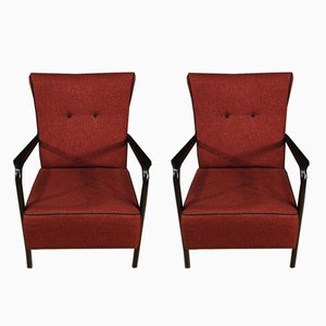 Italian Armchairs from Cassina, 1950s, Set of 2