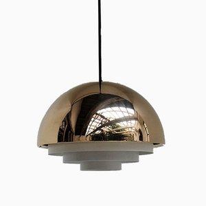 Milieu Midi Pendant Lamp by Jo Hammerborg for Fog & Morup, 1970s