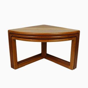 Mesas nido danesas vintage de teca