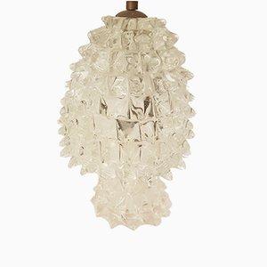 Lampade da comodino vintage di Barovier & Toso, anni '40