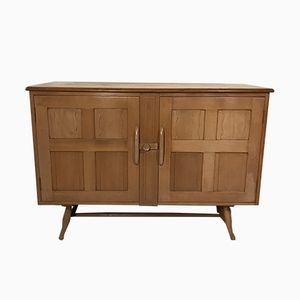 British Elm & Beech Sideboard by Lucian Ercolani for Ercol, 1950s
