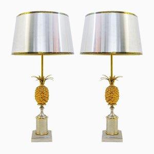 Lampes Ananas Vintage, Set de 2