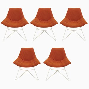 Side Chairs, 1970s, Set of 5