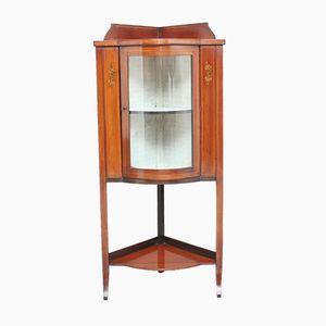Mahogany Corner Cupboard, 1910s