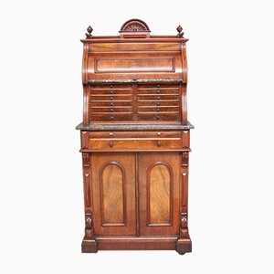 Burr Walnut Dentist Cabinet, 1860s