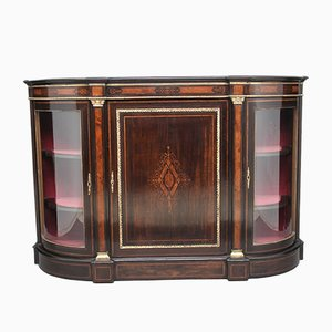 19th-Century Ebonised and Inlaid Credenza