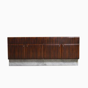 Large Brutalist Belgian Sideboard from the De Coene, 1960s