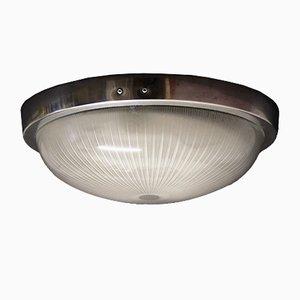 Lámpara de pared o de techo francesa Art Déco de Holophane