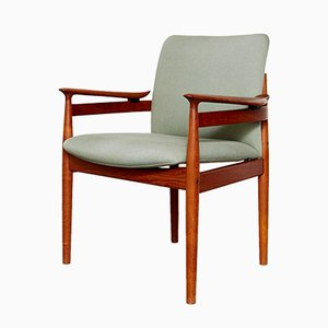Mid-Century Model FD 192 Chair by Finn Juhl for France & Søn