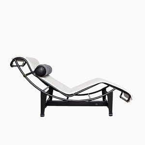 Chaise Inclinable LC4 Vintage par Le Corbusier, Perriand & Jeanneret pour Cassina