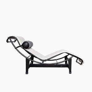 Sedia reclinabile LC4 vintage di Le Corbusier, Perriand e Jeanneret per Cassina