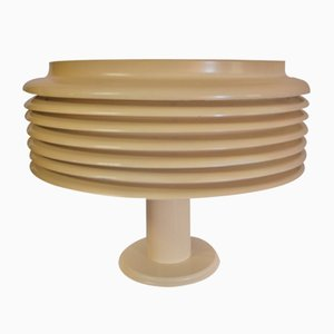 Lacquered Sheet Metal Lamp, 1970s