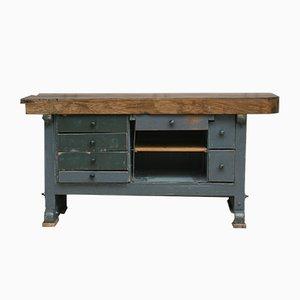 Vintage Oak Worktable
