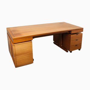 Vintage Art Collection Desk by Walter Knoll, 1970s