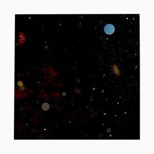 Impresión artística Space No. 1 tras vidrio acrílico de Antje Schaper, 2018