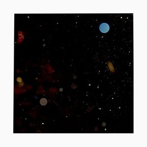 Space No. 1 Art Print behind Acrylic Glass by Antje Schaper, 2018