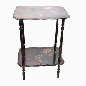 Vintage Italian Lacquered Side Table