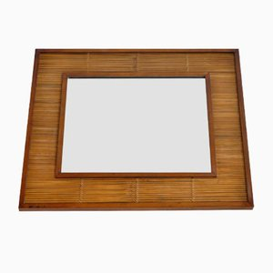 Teak Framed Mirror, 1970s