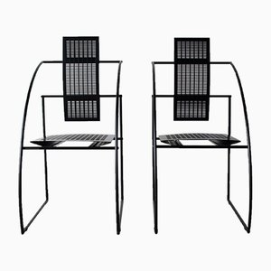Quinta Chairs by Mario Botta for Alias, 1985, Set of 2
