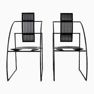 Quinta Chairs von Mario Botta für Alias, 1985, 2er Set