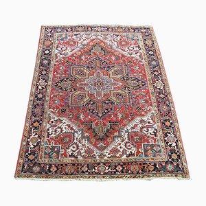 Antiker orientalischer Heriz Teppich