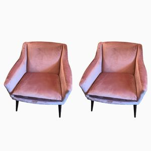 Portuguese Armchairs, 1950s, Set of 2
