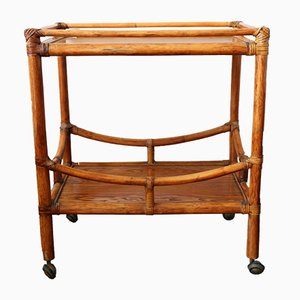 Bamboo & Ash Trolley, 1950s