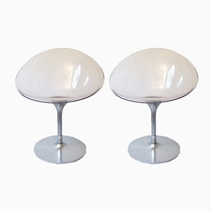 Vintage Lounge Chairs by Philippe Starck for Kartell, 1990s, Set of 2