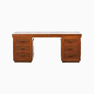 Vintage Modernist Desk by Charles Dudouyt