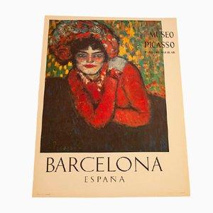 Poster vom Picasso Museum, 1960er