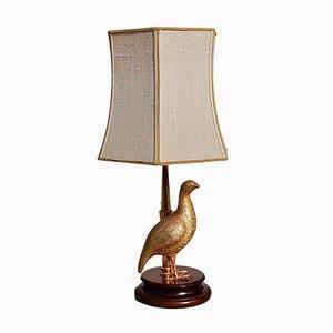 Lampe de Bureau Oiseau Doré, 1970s