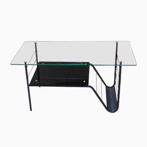 Table Basse Vintage en Verre par Pierre Guariche pour Airborne