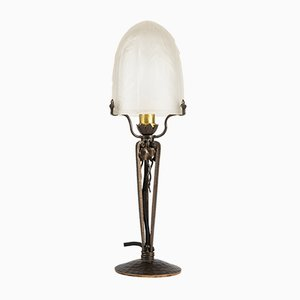 Art Deco Table Lamp from Muller Frères