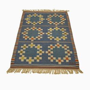 Vintage Röllakan Flat-Weave Carpet from Uhra-Beata Simberg-Ehrström