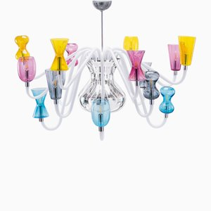 K1 Chandelier with 16 Lights by Karim Rashid from Purho