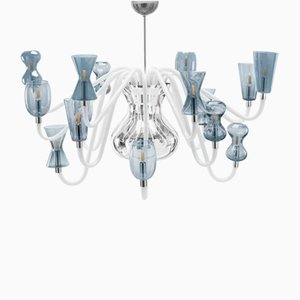 K1 Chandelier with 16 Lights by Karim Rashid for Purho