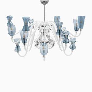 Lámpara de araña K1 con 16 puntos de luz de Karim Rashid para Puhro