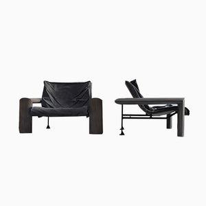 Maestro Chairs von Jean Louis Berthet, 1980er, 2er Set