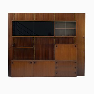 Mid-Century Wall Unit by André Monpoix
