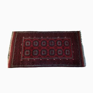 Vintage Middle Eastern Traditional Rug in Wool