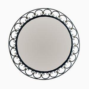 Espejo de hierro forjado, años 50
