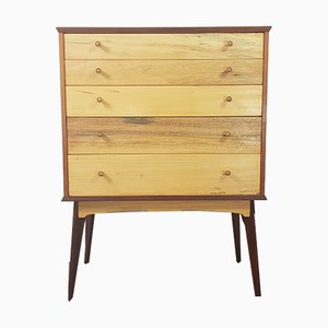 Chest of Drawers or Tallboy by Alfred Cox for AC Furniture, 1950s