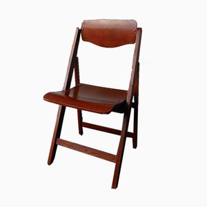 Wooden Folding Chair, 1950s