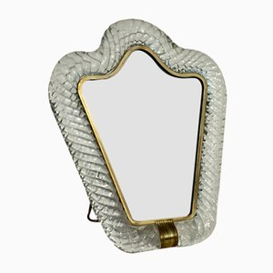 Torchon Murano Glass Picture Frame from Barovier & Toso, 1950s