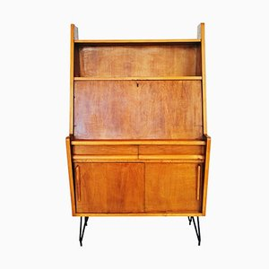 French Oak Secretaire. 1950s