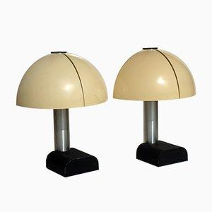 Lampes de Bureau Spicchio par Danilo & Corrado Aroldi pour Stilnovo 1973, Set de 2