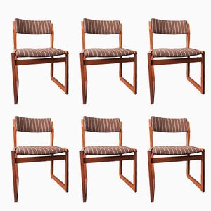 Danish Teak Chairs from KS Møbler, 1960s, Set of 6