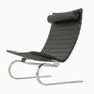 PK 20 Stuhl mit hoher Rückenlehne von Poul Kjaerholm für Kold Christensen, 1960er