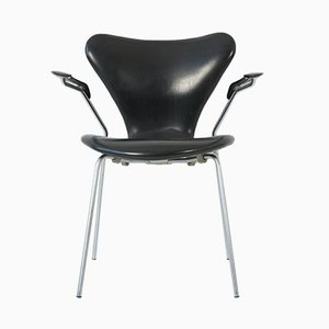 Sedia impilabile 3207 di Arne Jacobsen per Fritz Hansen, 1968