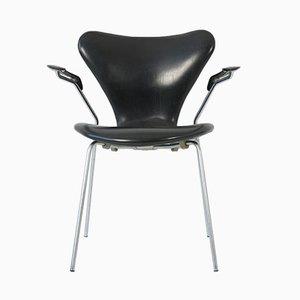 Silla nido 3207 de Arne Jacobsen para Fritz Hansen,1968